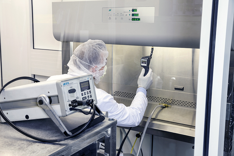 Equipment And Cleanroom Certification Steris Life Sciences